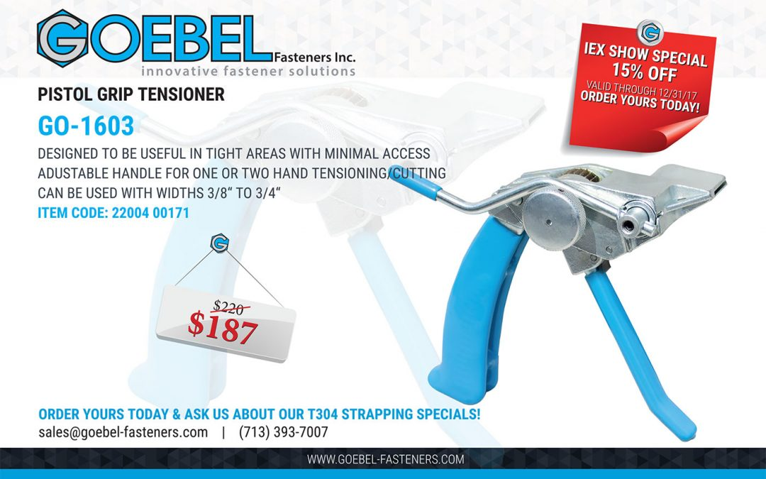 15% Off our GO-1603 Tensioner Tool
