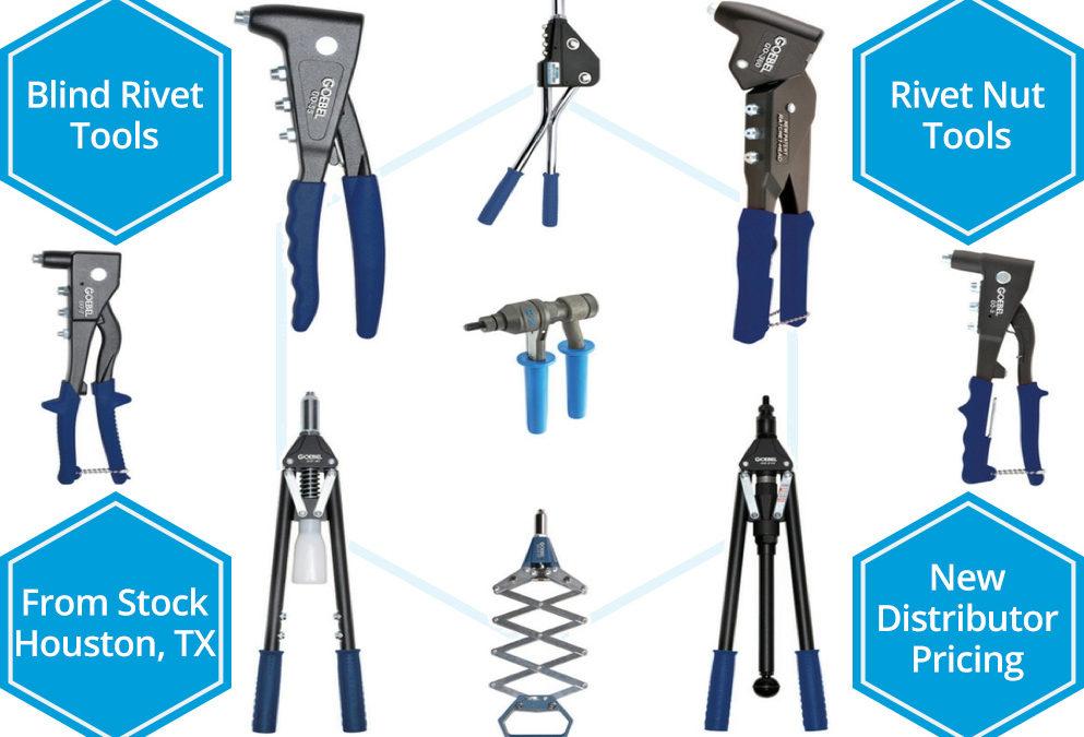 Blind Rivet and Rivet Nut Tools