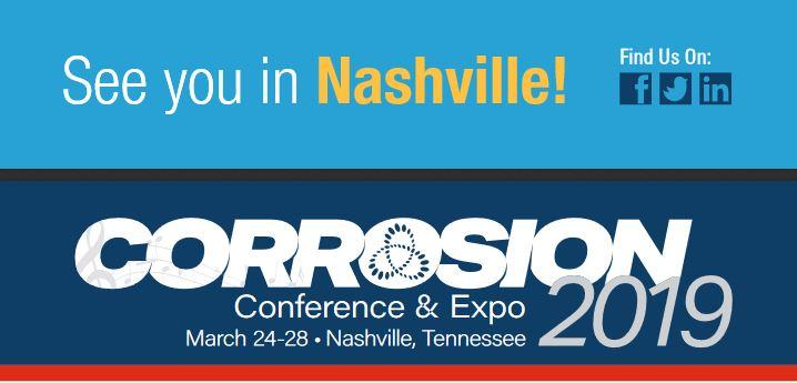 NACE Corrosion 2019 Conference