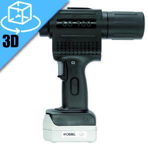 Goebel GO-100 Li-Ion Cordless Rivet Tool 3D Model
