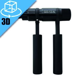 Goebel GO-12-N Threaded Insert Ratchet Hand Tool 3D Model
