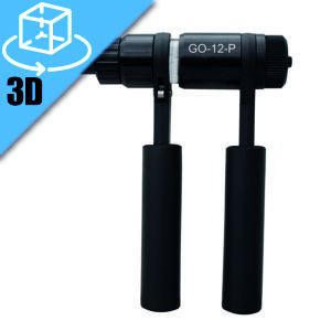 Goebel GO-12-P Lockbolt Ratchet Hand Tool 3D Model