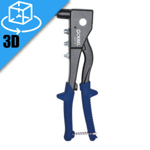 Goebel GO-2 Manual Rivet Tool 3D Model