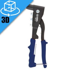 Goebel GO-3 Manual Rivet Tool 3D Model