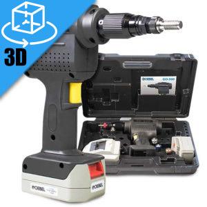 Goebel Go-300 Li-Ion Cordless Insert Tool 3D Model