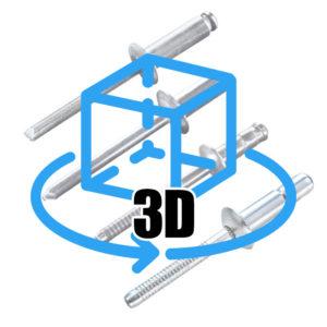 3D Rivet Models