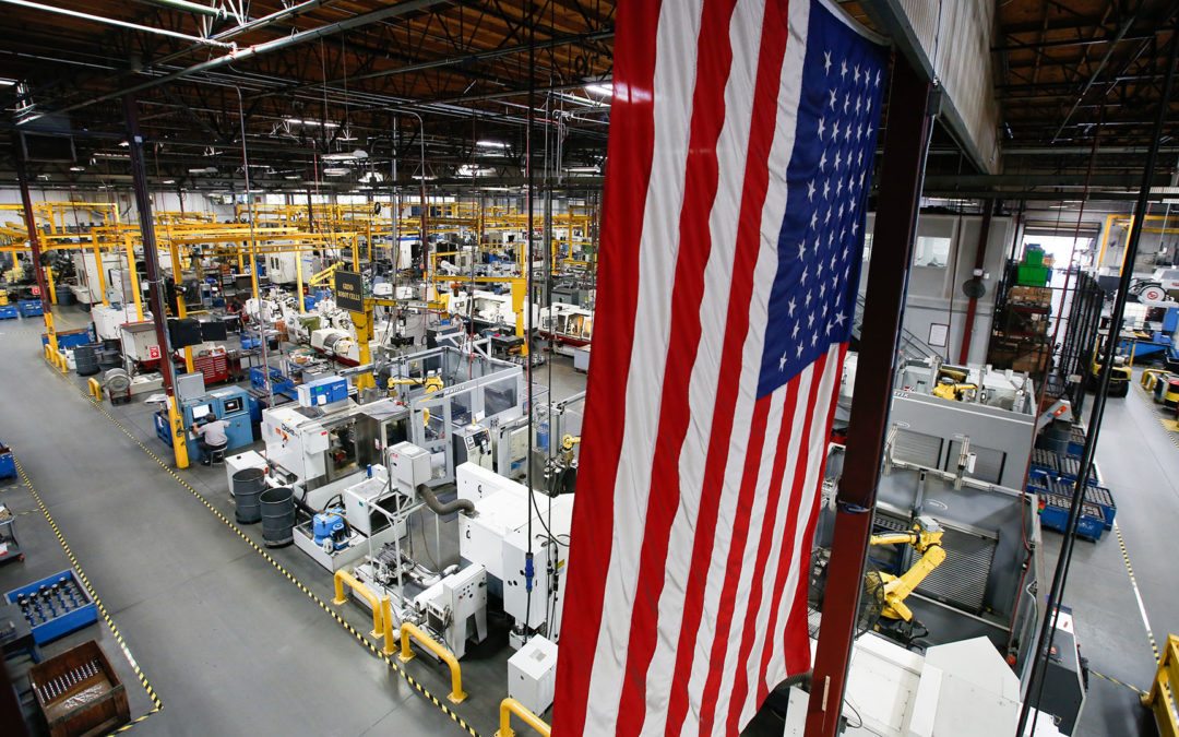 United States ISM Manufacturing Expands For The Third Straight Month