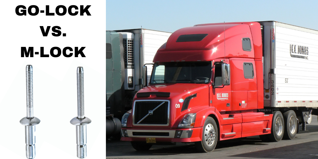 GO-LOCK vs. M-LOCK: Do you know the difference in our Structural Rivets?